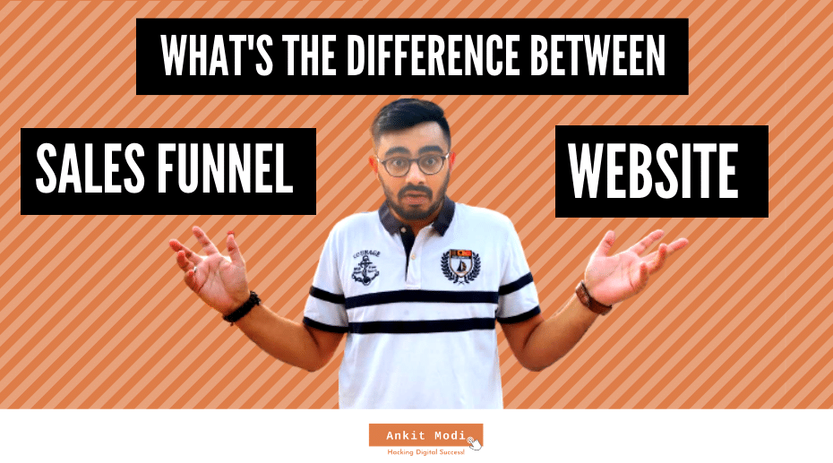 What is the difference between a Sales Funnel & Website